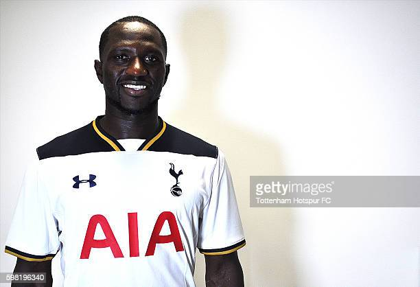 Tottenham Hotspur unveil new signing Moussa Sissoko on August 31 2016 in Enfield England