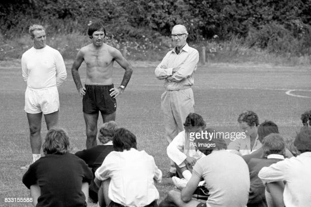 Tottenham Hotspur's chairman Sidney Wale at the club's Cheshunt training ground where he told the players of the decision to appoint chief coach...