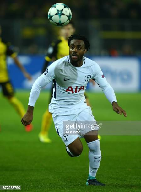 Tottenham Hotspur's Danny Rose during UEFA Champion League Group H Borussia Dortmund between Tottenham Hotspur played at Westfalenstadion Dortmund...