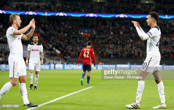 Tottenham Hotspur v CSKA Moscow - UEFA Champions League - Group E - Wembley Stadium : News Photo