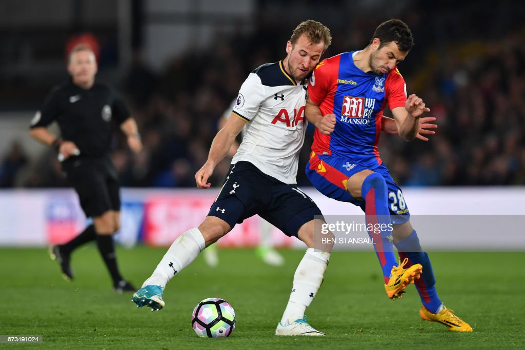FBL-ENG-PR-CRYSTAL PALACE-TOTTENHAM : News Photo