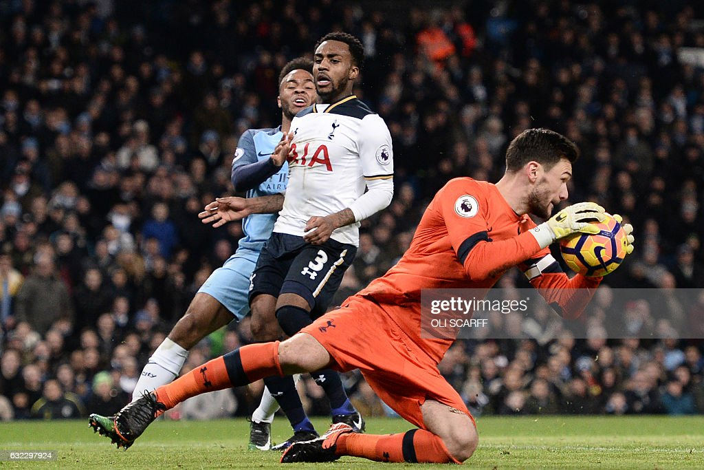 FBL-ENG-PR-MAN CITY-TOTTENHAM : News Photo