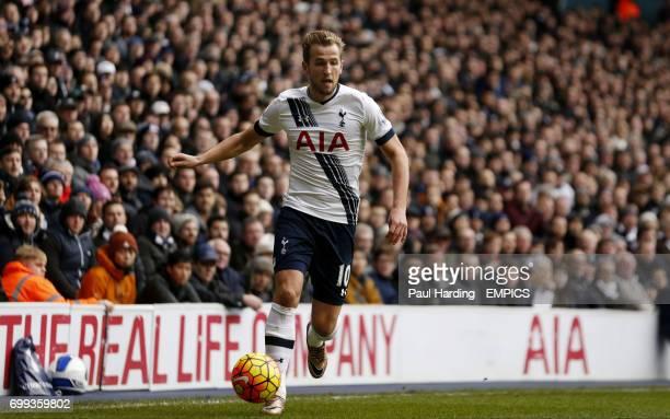 Tottenham Hotspur's Harry Kane in action