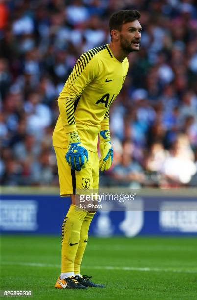 Tottenham Hotspur's Hugo Lloris during the Friendly match between Tottenham Hotspur and Juventus at Wembley stadium London England on 5 August 2017