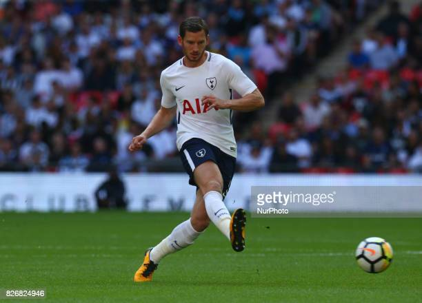 Tottenham Hotspur's Jan Vertonghen during the Friendly match between Tottenham Hotspur and Juventus at Wembley stadium London England on 5 August 2017