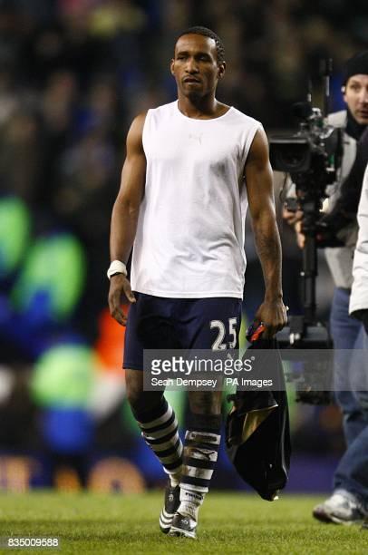 Tottenham Hotspur's Jermain Defoe after the final whistle
