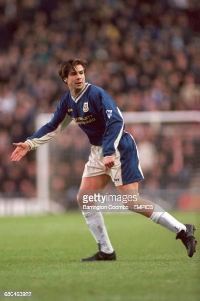 Tottenham Hotspur's Nicola Berti appeals for the ball