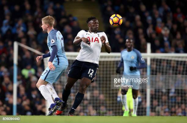 Tottenham Hotspur's Victor Wanyama and Manchester City's Kevin De Bruyne