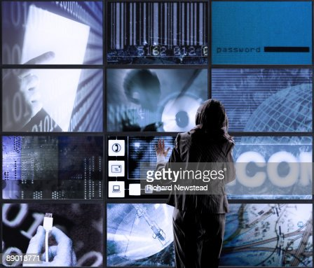Touch Screens : Foto stock