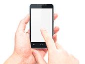 touching screen on smart phone