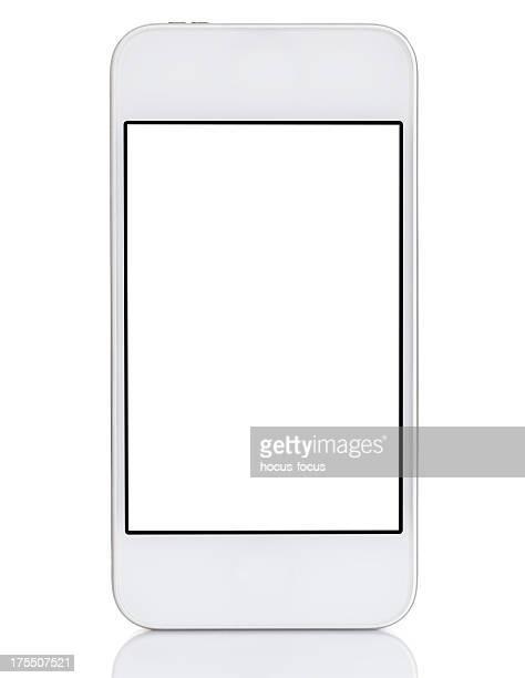 Weiße Smartphone Touchscreen