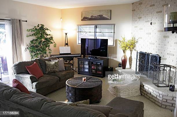 LEWIS 'Tough Girls' Episode 208 Pictured Living room before renovation
