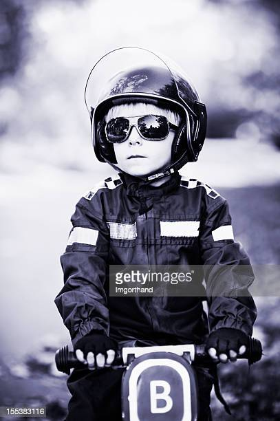 Tough little cop