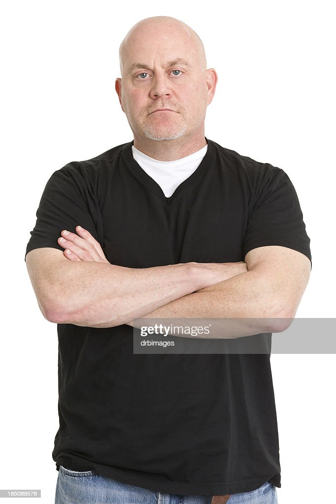 Tough Man Crosses Arms