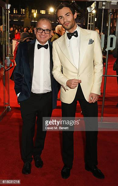 Touker Suleyman and MarkFrancis Vandelli attend the 'Free Fire' Closing Night Gala during the 60th BFI London Film Festival at Odeon Leicester Square...