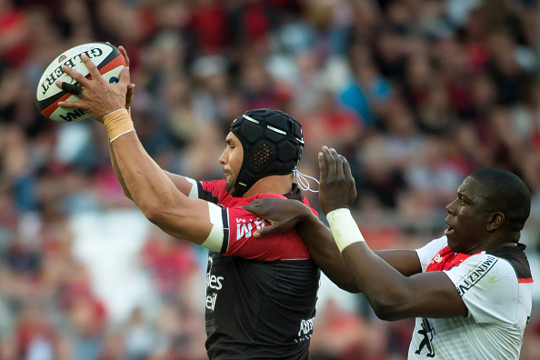 RUGBYU-FRA-TOP14-TOULON-TOULOUSE : News Photo