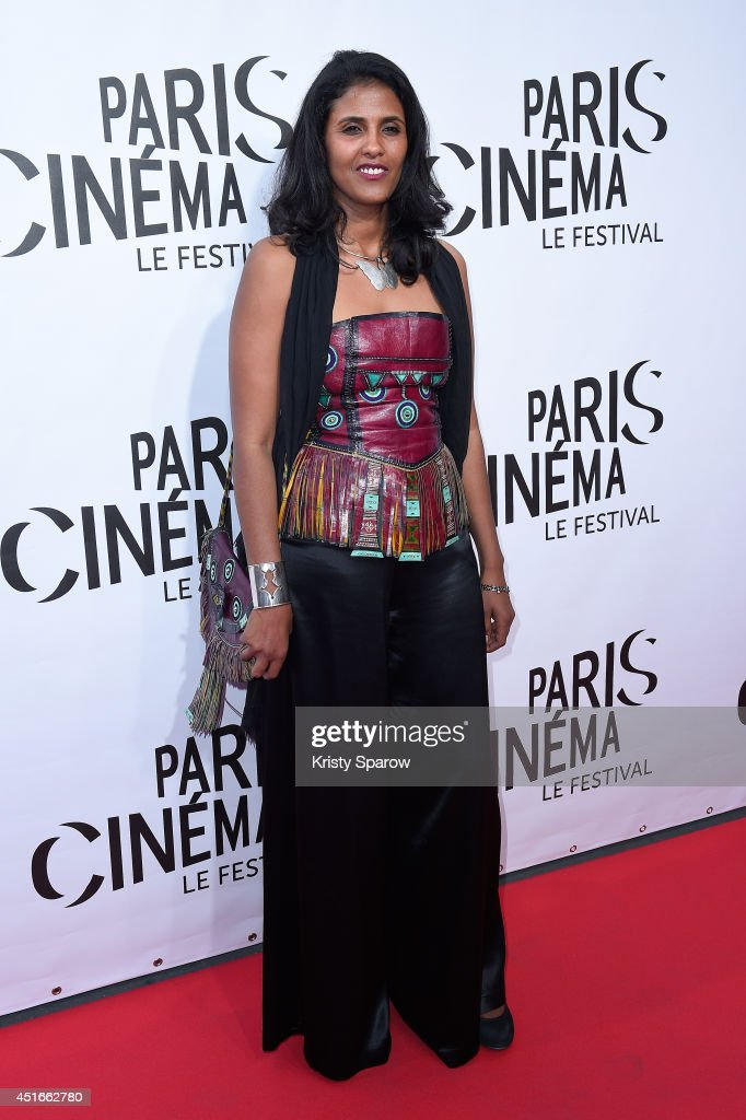 Toulou Kiki attends the Festival Paris Cinema Opening Ceremony at Cinema Gaumont Capucine on July 3, 2014 in Paris, France.
