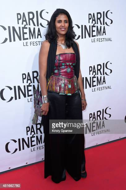 Toulou Kiki attends the Festival Paris Cinema Opening Ceremony at Cinema Gaumont Capucine on July 3 2014 in Paris France