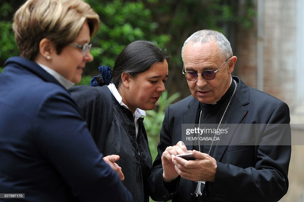 Toulouse's archbishop Robert Legal is pictured, on May 3, 2016 in Toulouse. / AFP / REMY