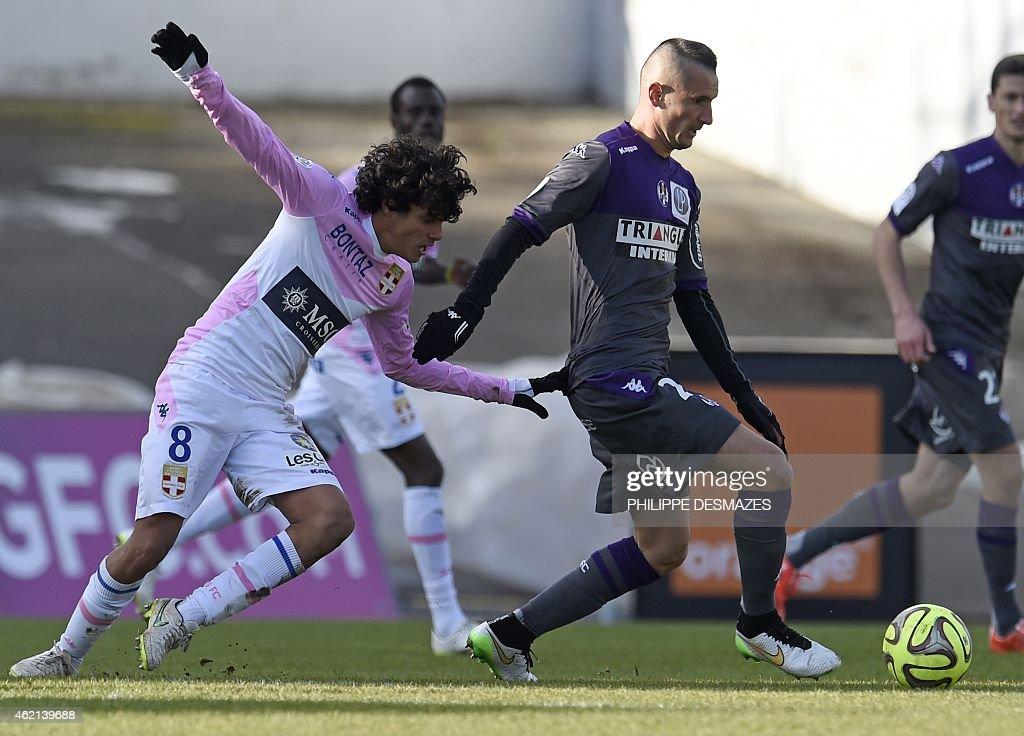 Evian Thonon Gaillard FC v Toulouse - Ligue 1
