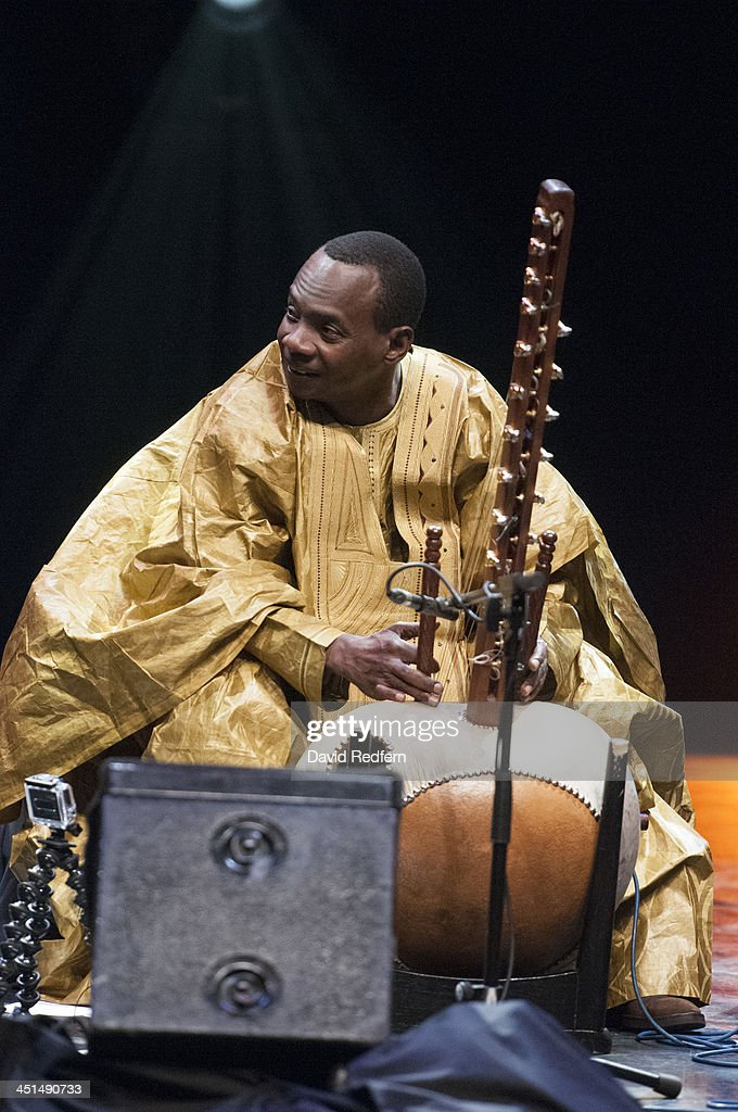 <a gi-track='captionPersonalityLinkClicked' href=/galleries/search?phrase=Toumani+Diabate&family=editorial&specificpeople=828405 ng-click='$event.stopPropagation()'>Toumani Diabate</a> performs on stage during day 8 of London Jazz Festival at Royal Festival Hall on November 22, 2013 in London, United Kingdom.