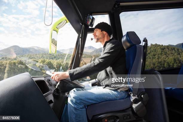Chauffeur de Bus de tournée à Fiordland National Park, Nouvelle-Zélande