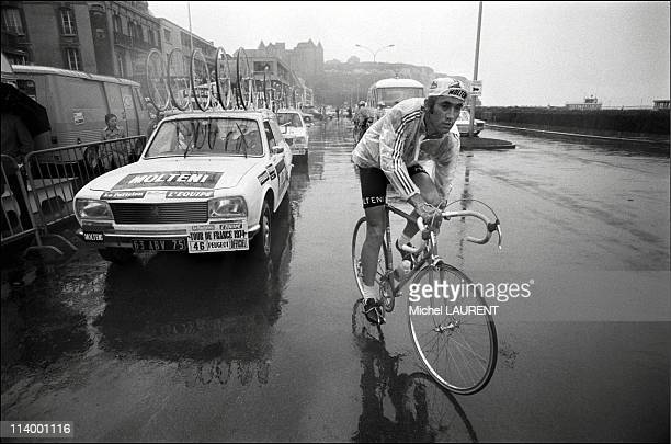 Tour de France 1974 Dieppe Caen In France On July 02 1974Eddy Merckx