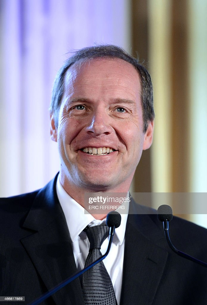 Tour de France and Paris-Nice cycling races' director Christian Prudhomme gives a press conference to present the 2014 Paris-Nice route, on February 4, 2014 in Versailles.This years 72nd edition runs from March 9 to 16 and will not feature an individual time trial stage nor a high mountain finish.