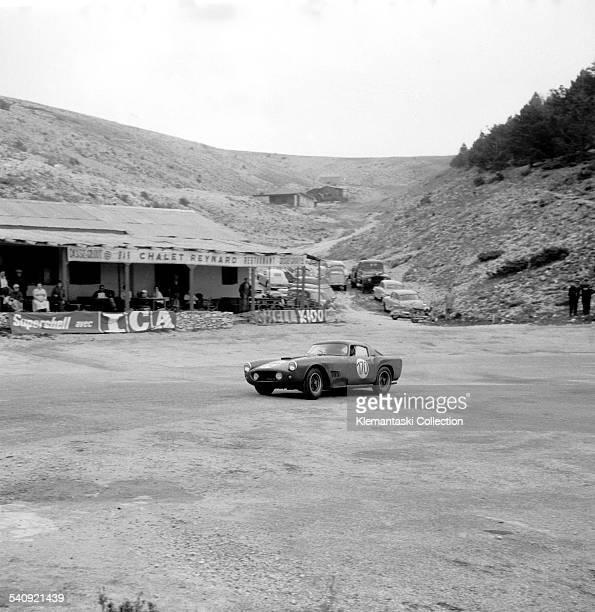Tour de France Auto September 1825 1959 The Ferrari 250GT Tour de France of Carlo Abate on the climb of Mt Ventoux