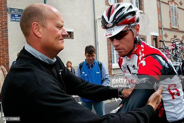 Tour de France stage 6 Bjarne Riis Nicki Soerensen Team CSC