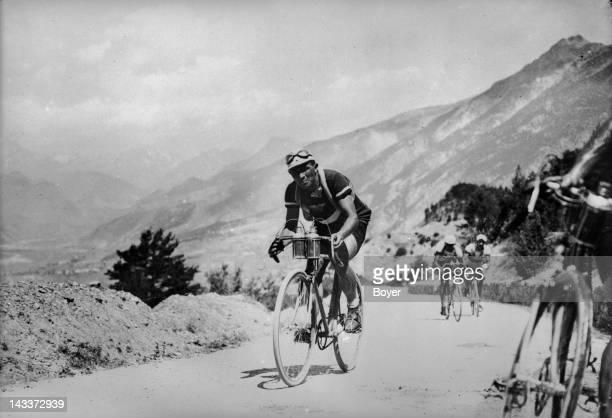Tour de France Stage in a pass of the Pyrénées