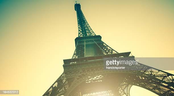 Tour Eiffel at sunset
