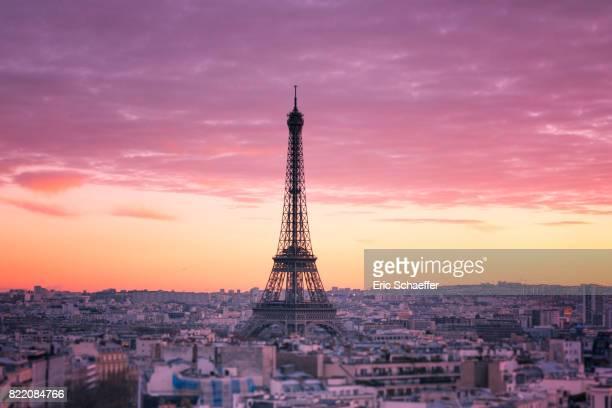 Tour Eiffel vue de haut