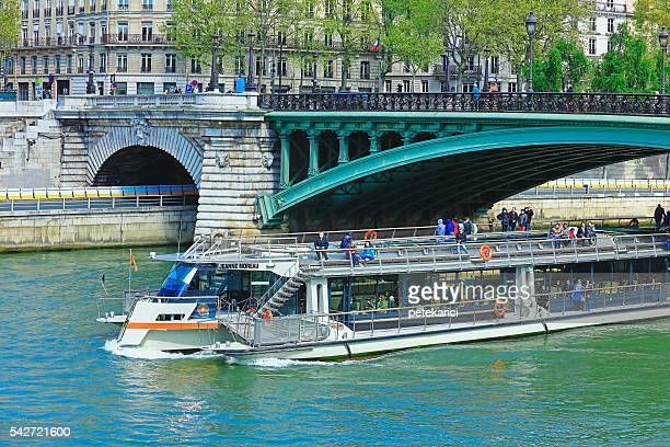 Tourboat on Seine River