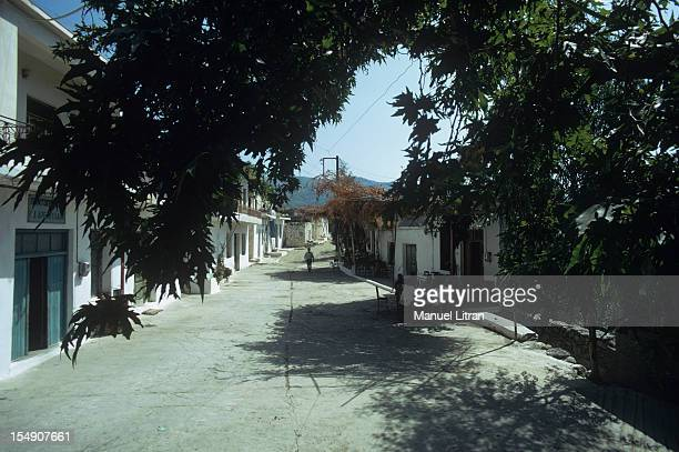 in a village street
