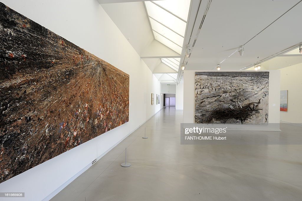 Summer Getaway In Alsace. The museum Wurth ERSTEIN (Bas-Rhin), ZI Ouest, rue Georges Besse: exhibition of the works of artist Anselm Kiefer, from January 28 to September 25: the left, 'The Sleeper of the Valley', 2010, at the bottom 'Tremble '2007. ALSACE. A Erstein The Wurth Museum, Ms. Bertrand director of the museum. Anselm Kiefer28 January to 25 September 2011. Wurth Museum in January 2008 and architect Jacques Clement Vergely collection Wurth nearly 14,000 auvres exposure in a non-permanent Erstein integrated site in July 1997 and the seat of its fleet with a vegetal lahorizon the Vosges.