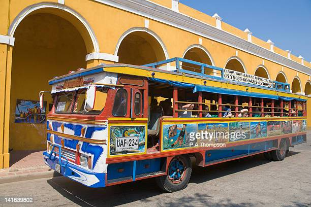 Tourist Bus, Chiva, Cartagena, Colombia
