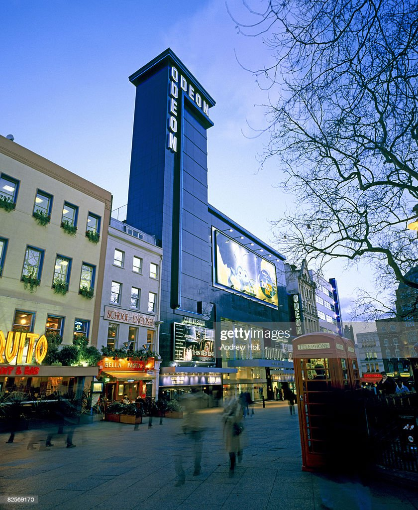 tourist cinema building in London