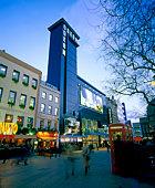 tourist cinema building in London