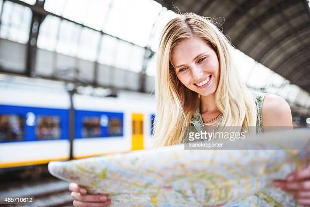 Tourisme à amsterdam La carte de la ville