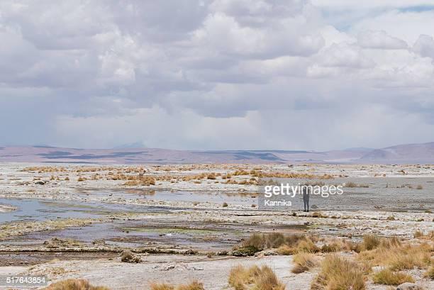 Tourist in Bolivia