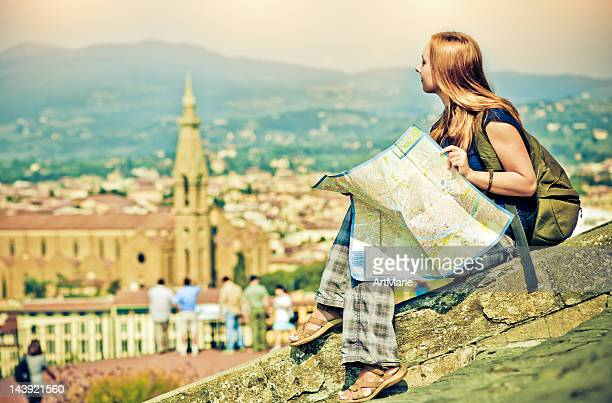 Tourist in Florence
