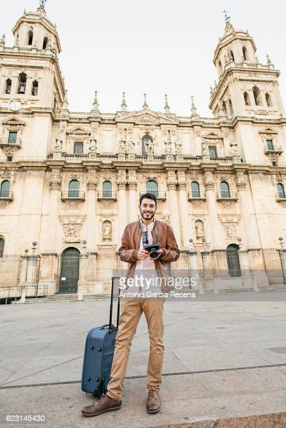 Tourist in Jaen