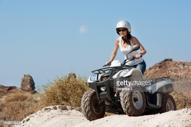 Touristes sur quad