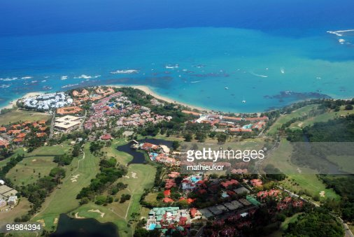 Tourist resort- view from the sky