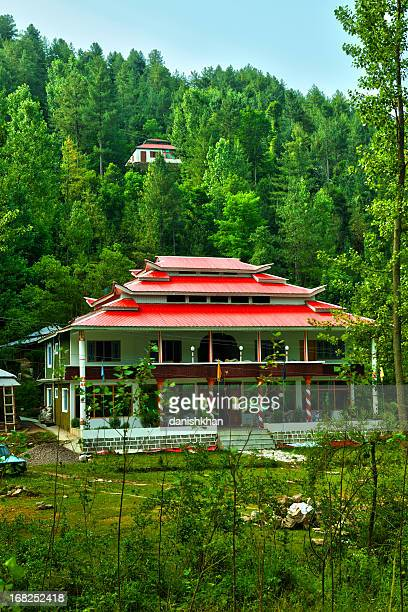 Tourist Rest House in midst of thick forest, Azad Kashmir