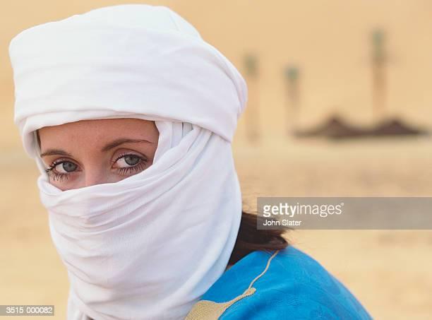 Tourist Wearing Kaffiyeh