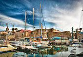 Touristic port of Alghero, Sardinia, Italy