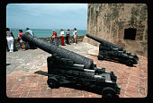 Tourists at Dominican Fort