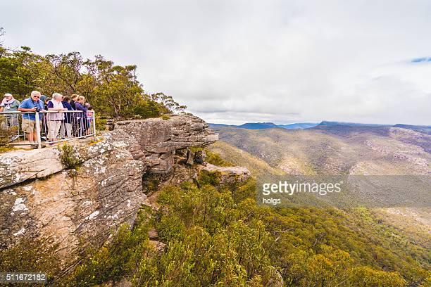 Tourists at Grampians National Park
